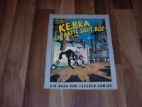 Tramber/Jano -- KEBRA die RATTE SIEHT ROT // 1. Auflage 1984