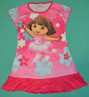 NEW Girl Dora The Explorer Hot Pink summer dress Sz 3,4,5,6