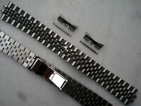 20MM SOLID STEEL HIDDEN CLAP JUBILEE BAND BRACELET FOR ROLEX MEN DATEJUST WATCH