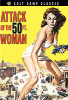 ATTACK OF THE 50 FOOT WOMAN   DVD   Cult Classic  LIKE NEW