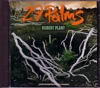 Robert Plant 29 Palms w/ RARE EDIT PROMO Radio DJ CD Single LED ZEPPELIN 1993
