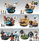 Bandai One Piece 1/144 World Scale Going Merry Boat Ship Figure Set of 6 NO BOX