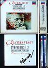 Vladimir ASHKENAZY Signiert RACHMANINOV Symphony No.1 2 3 Youth 3CD Sinfonien