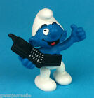 SCHTROUMPF TELEPHONE PORTABLE 20438 GERMANY CE NEUF SMURF PUFFI PITUFO SCHLEICH