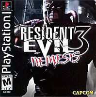 RESIDENT EVIL 3 NEMESIS PS1 PLAYSTATION 1 DISC ONLY