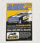 NHRA Drag Racing T-Shirt, Lions Drag Strip Poster Hawaiian Roland Leong