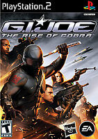 G.I. JOE: THE RISE OF COBRA PS2 PLAYSTATION 2 DISC ONLY
