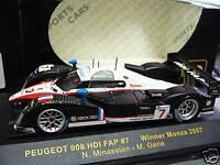 PEUGEOT 908 HDI Le Mans Series 2007 Winner Monza Minassian Gene IXO 1:43