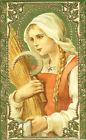 SANTINO HOLY CARD SANTA NOTBURGA - VERGINE