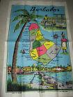 Linen Tea Towel Barbados By Lamont