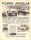 ADVERTISING PUBBLICITA' FORD ANGLIA - 1962