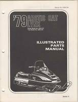 1979 ARCTIC CAT SNOWMOBILE LYNX PARTS MANUAL