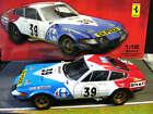 FERRARI 365 GTB4 Competition Daytona #36 Carrefour Le Mans 1972 Kyosho RAR 1:18