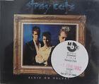 STRAY CATS CD ELVIS ON VELVET UK 3 TRK Radio Ed. PROMO