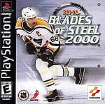 NHL BLADES OF STEEL 2000 PS1 PLAYSTATION 1 DISC ONLY