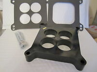 HOLLEY EDELBROCK 1 inch carb spacer kit PHENOLIC  PORTED 1