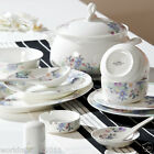 """56 Piece"" European High Quality Bone Round Porcelain Dinner Sets/Table Ware"