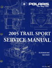 2005 POLARIS SNOWMOBILE TRAIL SPORT SERVICE MANUAL CD