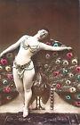 CARTOLINA POSTCARD - NUDO DONNA D'EPOCA NUDE WOMEN VINTAGE 1910 ca. - Riprod. 03