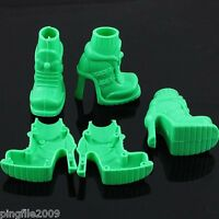 Barbie Shoes/Boots High Heel Shoe-Green