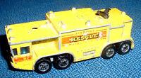 Modellino incompleto - Hot wheels Mattel Hong Kong - AIRPORT RESCUE - 1979 Fire
