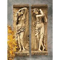Design Toscano Water Maidens Wall Friezes: Set