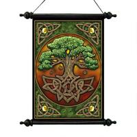 Design Toscano Tree of Life Canvas Wall Scroll