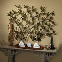 Design Toscano Whispering Reeds Asian Bamboo Metal Wall Art Sculpture