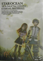 STAR OCEAN Till the End of Time GAME GUIDE BOOK PS2 dvd