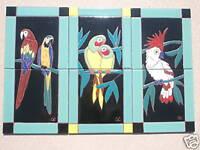Catalina Tile Parrot Bird Taylor Malibu San Jose NR