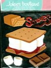 STICKERS 3D S'MORES CHAMALLOW CHOCOLAT Jolee's