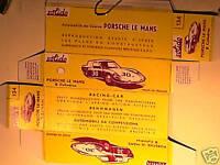 REPLIQUE BOITE PORSCHE LE MANS 1964 SOLIDO