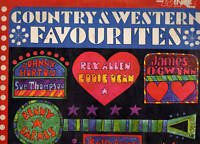 VARIOUS ARTISTS COUNTRY & WESTERN FAVOURITES   VINYL LP