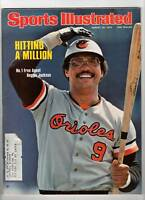 1976 Sports Illustrated magazine Reggie Jackson, Baltimore Orioles baseball