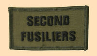 NEW OFFICIAL 2nd Fusiliers title