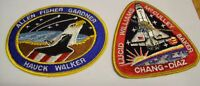 2 ~ ~ ~Astronauts & Space Travel Collector Patches