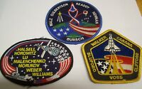 3 ~ ~ ~Astronauts & Space Travel Collector Patches
