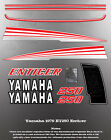 YAMAHA 1979 ET250 ENTICER SNOWMOBILE GRAPHIC DECAL SET