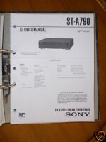 Service-Manual Sony ST-A790 Tuner,ORIGINAL