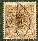 TIMBRE OBLITERE ANCIEN ALLEMAGNE REICH 1898