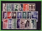 TIMBRES ANNEE COMPLETE FRANCE NEUF LUXE 1952 +++