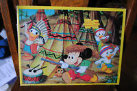 Vintage 1950s MICKEY MOUSE DONALD DK tray puzzle Disney