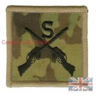 OFFICIAL Multicam MTP British Army Sniper BADGE Patch