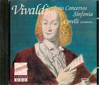 CD CLASSIQUE--VIVALDI--TROIS CONCERTOS-SINFONIA CORELLI