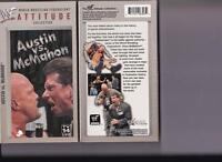 AUSTIN VS MCMAHON  BRAND NEW SEALED WWE WWF VHS TAPE