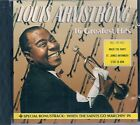 CD COMPIL 17 TITRES--LOUIS ARMSTRONG--GREATEST HITS