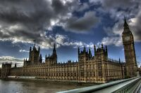 LONDON BIG BEN HOUSE OF PARLIAMENT     A4 POSTER  PRINT ART