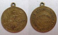 Medaille Turnver. Steinigtwolmsdorf 1890 Bautzen