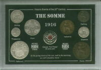 Battle of the Somme WWI Great War Veteran Remembrance Poppy Coin Gift Set 1916