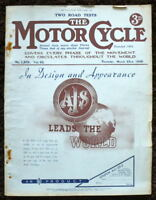 THE MOTORCYCLE MAGAZINE-IN DESIGN AND APPEARANCE 23 MAR 1939-VOL. 62